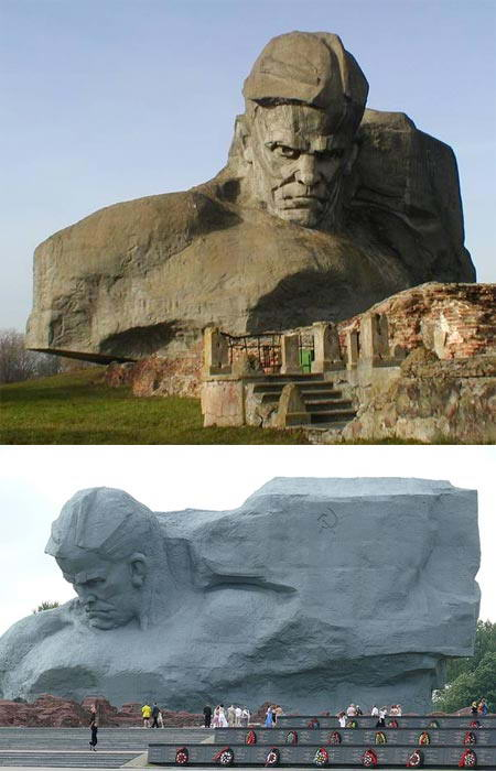Kemegahan 10 Monumen Dibuat Dengan Memahat Gunung